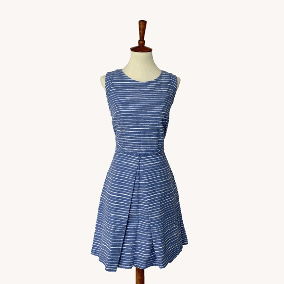 Anthropologie Dresses & Skirts - Striped Aline Dress